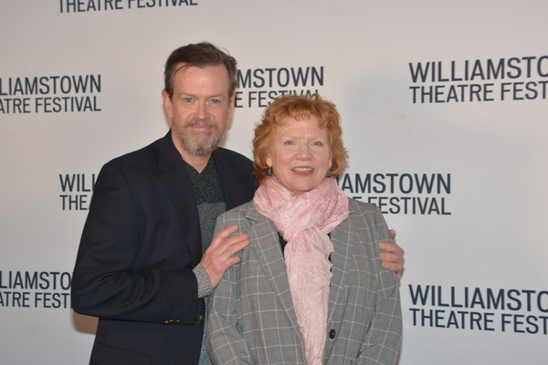 Dylan Baker and Becky Ann Baker Photo