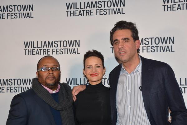 Robert O'Hara, Carla Gudino and Bobby Cannavale Photo
