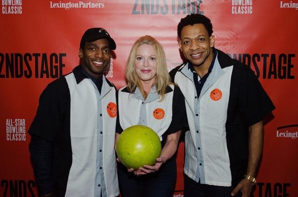 Daniel J. Watts, Sherie Rene Scott and Derrick Baskin Photo