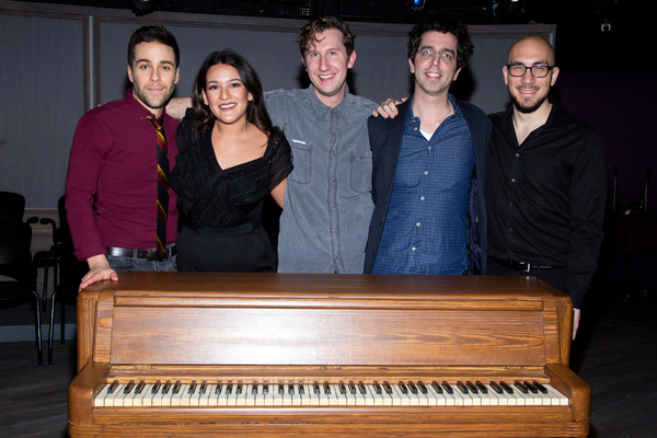 Daniel Zaitchik, Lexi Bodick, Matt Moisey, David Gardos, Nick Anton Photo