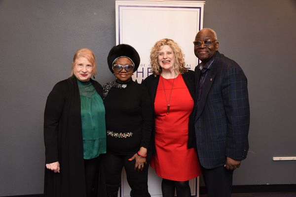 Shellen Lubin, Irene Gandy, Catherine Porter, and Voza Rivers Photo