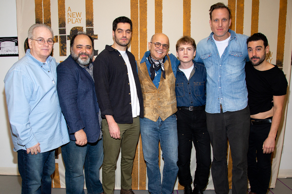 Bobby Moresco, Richard R. Henry, Alex Mickiewicz, Joe Pantoliano, Griffin Osborne, Pa Photo
