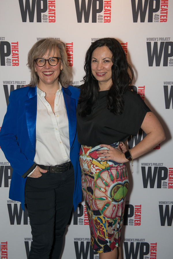 Lisa McNulty (Producing Artistic Dir, WP), Stephanie Ybarra (Artistic Director, Baltimore Center Theater)