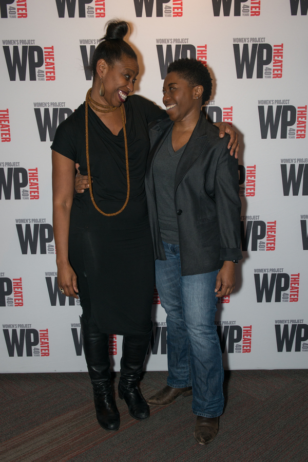 Tamilla Woodard (Director) & Donnetta Lavinia Grays (Playwright & Performer)  Photo