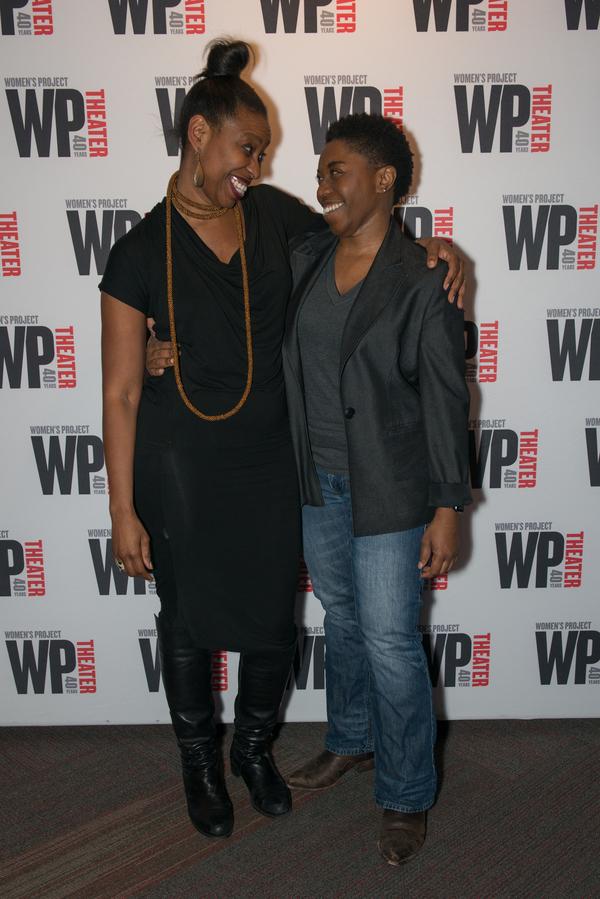 Tamilla Woodard (Director) & Donnetta Lavinia Grays (Playwright & Performer)