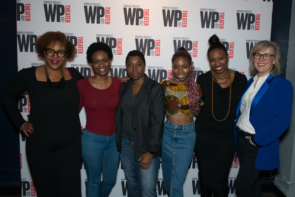 viBe Theater Cohort with Donnetta Lavinia Grays, Tamilla Woodard, Lisa McNulty Photo