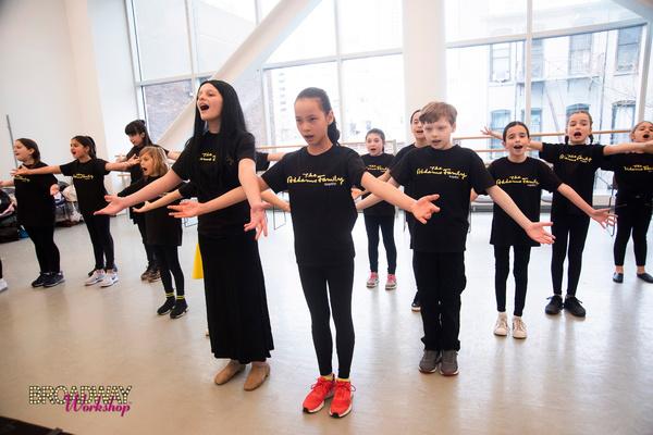 Photo Flash: THE ADDAMS FAMILY Haunts Broadway Workshop