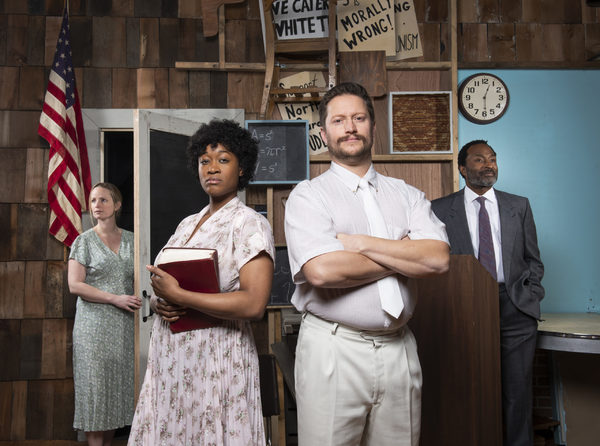 Photo Flash: Meet the Cast of BEST OF ENEMIES at Pacific Theatre