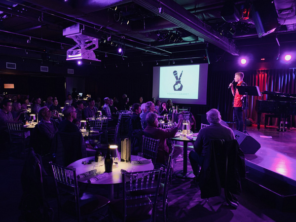 Photos: Thomas March's 'Poetry/Cabaret: Smitten!' February 8 At The Green Room 42