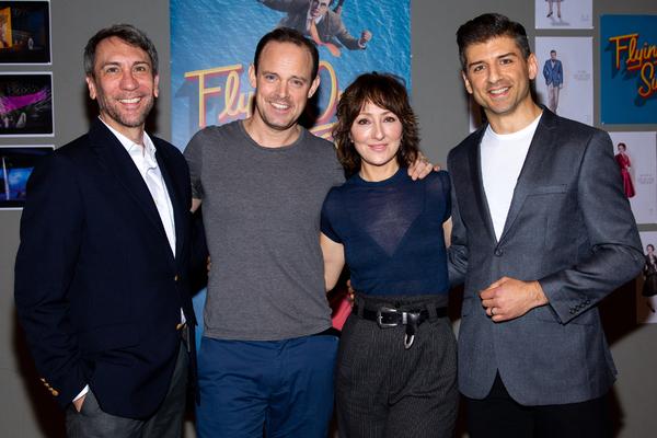 Robert Sella, Harry Hadden-Paton, Carmen Cusack, Tony Yazbeck Photo