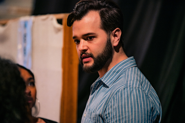 Photo Flash: Get a Sneak Peek Inside Rehearsals for I AM NOT YOUR PERFECT MEXICAN DAUGHTER