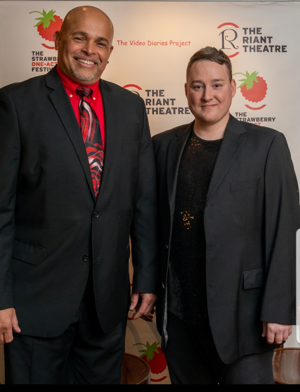 Photo Flash: The Riant Theatre Hosts THE STRAWBERRY ONE-ACT FESTIVAL Gala