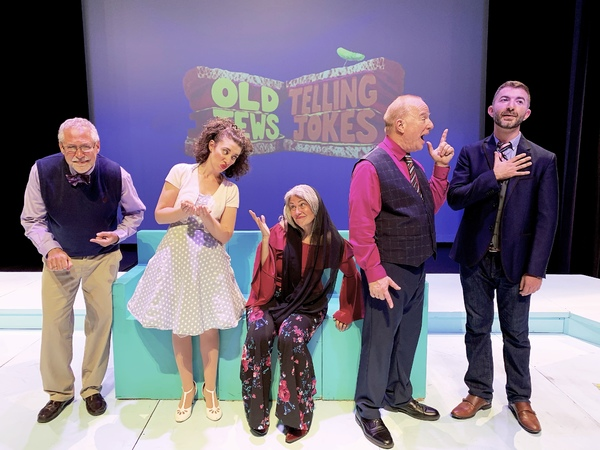 Photo Flash: First Look at OLD JEWS TELLING JOKES at Indian Wells Theater in Palm Desert, CA