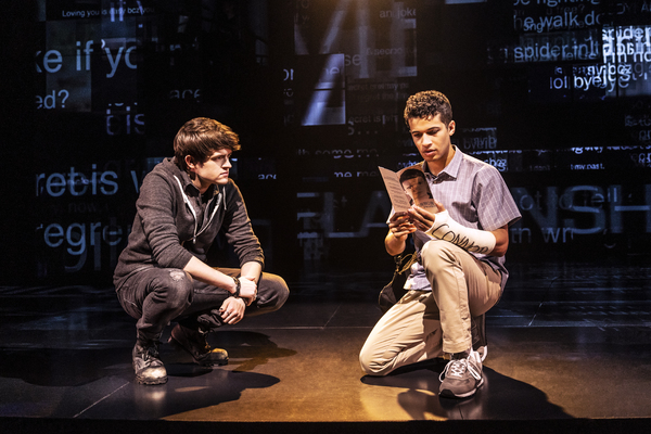 David Jeffery, Jordan Fisher Photo