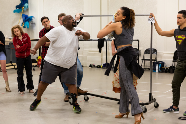 Photo Flash: In Rehearsals for Encores! MACK & MABEL