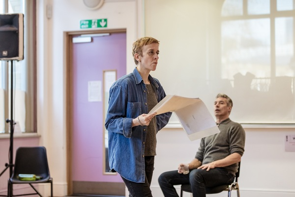 Photo Flash: Inside Rehearsals for Paines Plough's RUN SISTER RUN