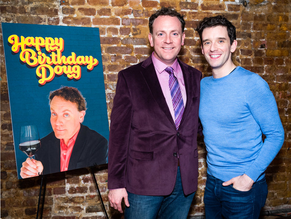 Drew Droege and Michael Urie Photo