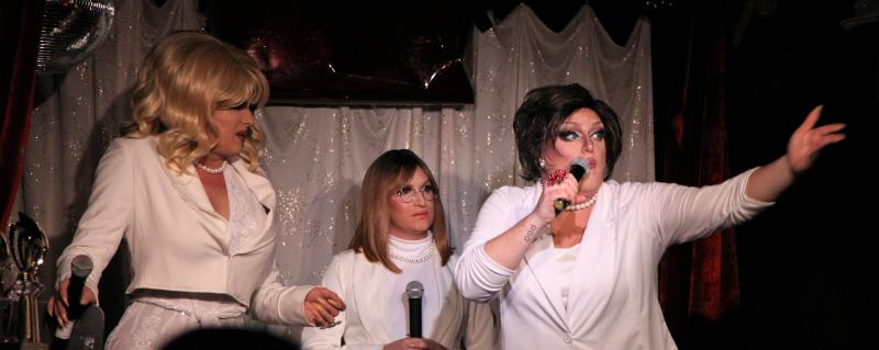 BWW Review: The 3 Witches Of WITCH PERFECT & HOW THE BITCH STOLE CHRISTMAS Return To Club Cumming with A New Movie Parody, THE FIRST KNIVES CLUB