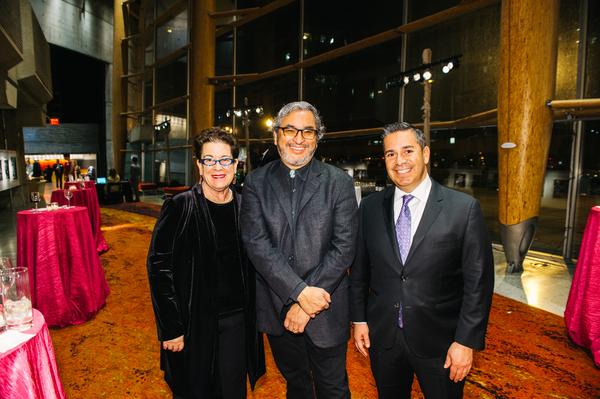 Molly Smith, Octavio Solis, Ben Ray Luján Photo