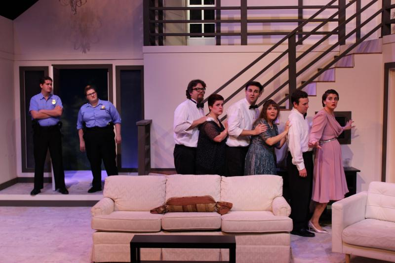 BWW Review: RUMORS Leaves Audience in Stitches at Hat Trick Theatre