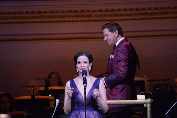 Mandy Gonzalez and Steven Reineke Photo
