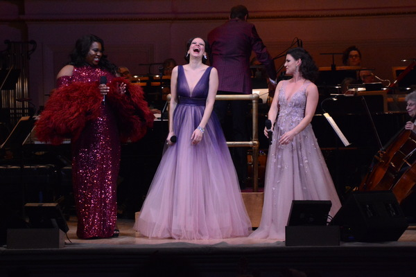 Photo Coverage: Mandy Gonzalez, Carrie Manolakos, and Alex Newell in I'M EVERY WOMAN: DIVAS ON STAGE