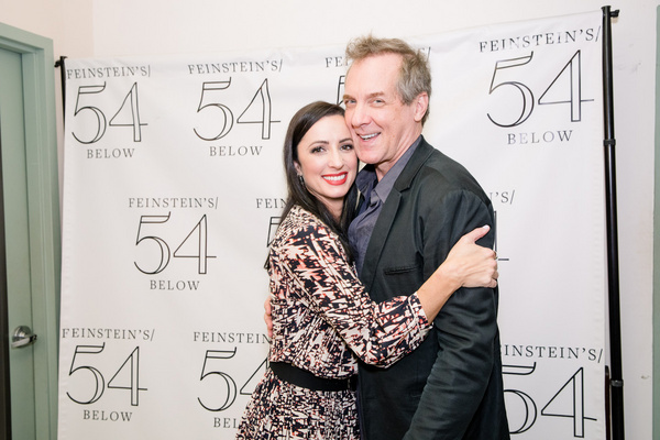 Photo Flash: Theatre Couples Teamed Up For A BROADWAY VALENTINE'S DAY at Feinstein's/54 Below