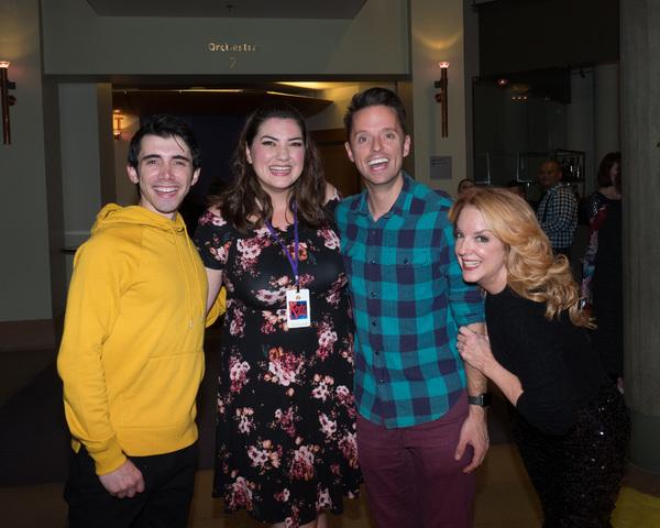 Chris Villan, Candice Rochelle Berge, Co-Founder Daniel Dawson, and Choreographer Lin Photo