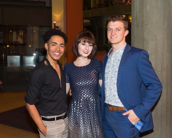 Chris Bey, Dayna Sauble, and Zach Fogel Photo