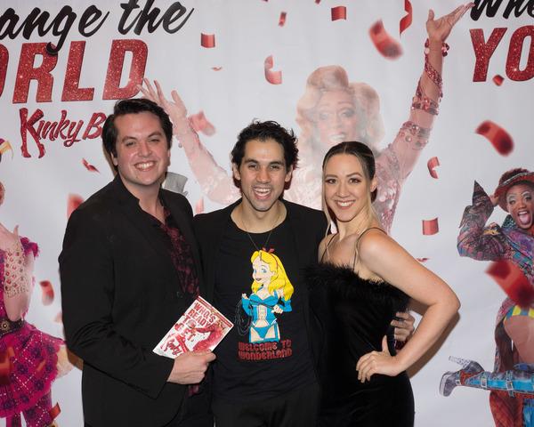 John McGavin, Rodrigo Varandas, and Ariel Samuels Photo