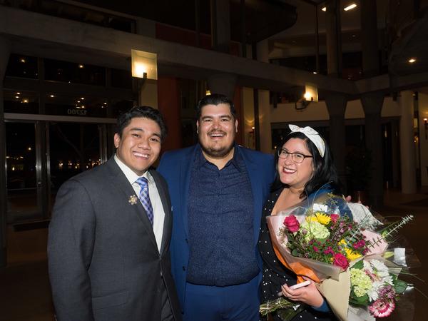 Chris Bona, Javier Garcia, and Risa Garcia  Photo