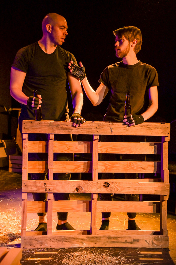 William Ketter and Brandon Walker in The Seeing Place Theater''s ANIMAL FARM.   Photo Photo