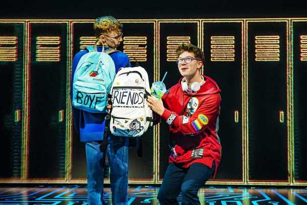 Photo Flash: First Look at BE MORE CHILL in London; Opening Tonight!