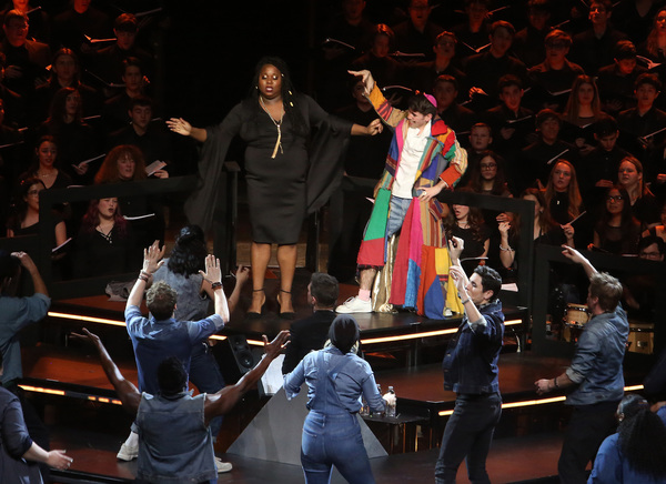 Alex Newell and cast Photo
