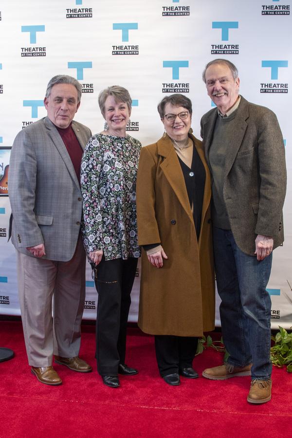 Roger Mueller and Jill Mueller and Paula Scrofano and John Reeger Photo