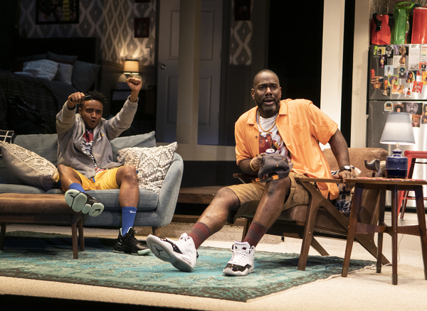 Photo Flash: Take a Look at Signature Theatre's THE HOT WING KING
