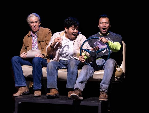 Mark Murphey, Amy Lizardo and Tony Sancho  Photo