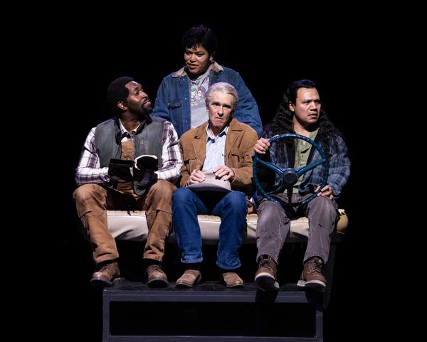 Cedric Lamar, Amy Lizardo, Mark Murphey and Tony Sancho  Photo
