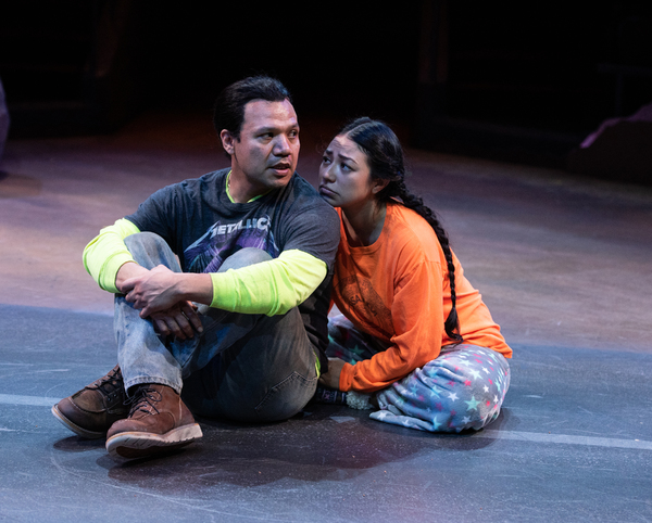 Tony Sancho and Natalie Camunas  Photo