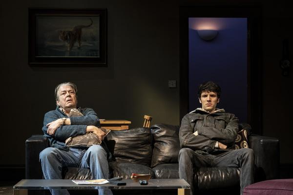 Roger Allam and Colin Morgan Photo