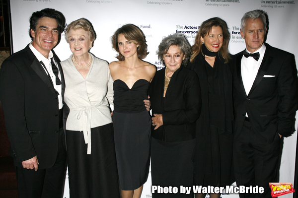 Peter Gallagher, Angela Lansbury, Keri Russell, Zoe Caldwell, Annette Bening & John S Photo