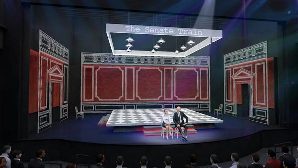 Photos: Sneak Peek At Set Designs For Joe DiPietro's CONSCIENCE at George Street Playhouse