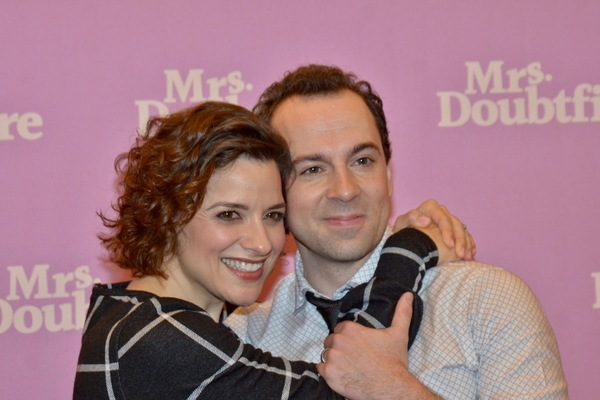 Jenn Gambatese and Rob McClure Photo
