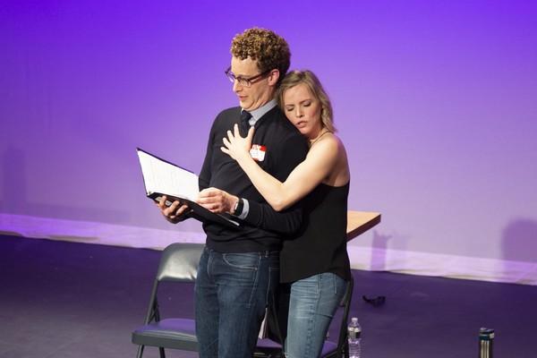 Noah Weisberg and Katie Rose Clarke  Photo
