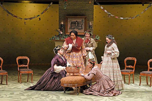 Photo Flash: West Coast Premiere of LITTLE WOMEN at The Old Globe