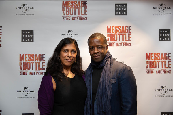 Lolita Chakrabarti and Adrian Lester  Photo