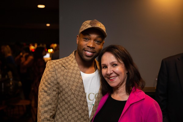 Photos: Elaine Page, Todrick Hall and More Attend MESSAGE IN A BOTTLE Opening Night at Peacock Theatre