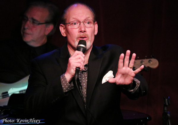 Photo Flash: J. Mark McVey In Concert At Birdland