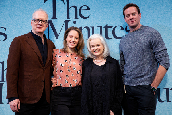 Tracy Letts, Jessie Mueller, Blair Brown, Armie Hammer Photo