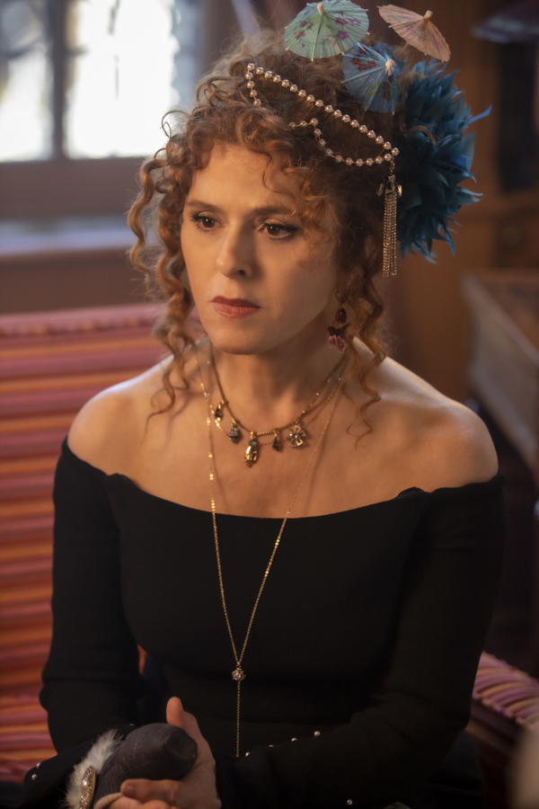 Photo Flash: Get a First Look at Bernadette Peters on KATY KEENE!